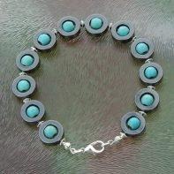 armband hematiet-turq1
